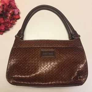 Relic by Fossil Brown Leather Handbag